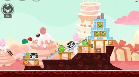Birdday Party Cake 4 Level 6