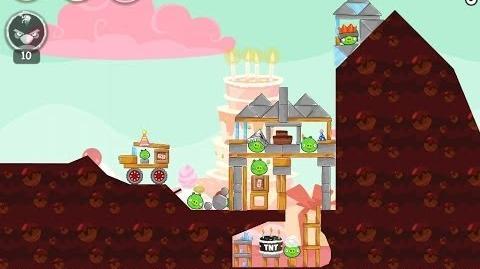Birdday Party Cake 4 Level 14