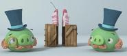 Cerdo Elegante Piggy Tales Cake Duel