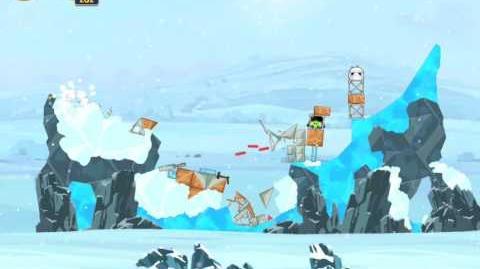 Hoth 3-14 (Angry Birds Star Wars)/Video Walkthrough