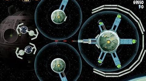 Death Star 2 6-11 (Angry Birds Star Wars)/Video Walkthrough