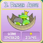 Danger Above 130