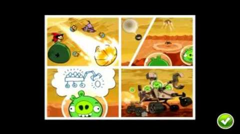Angry Birds Space Red PLanet First look Gameplay