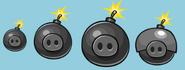 Cerdo Explosivo Angry Birds Friends Análogos
