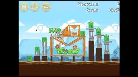Angry Birds Chrome Dimension 11 3 Star Walkthrough