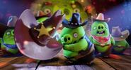 Cowboy Pigs Angry Birds Movie