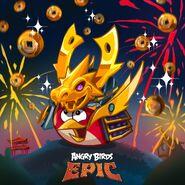 Samurai Red Epic Poster