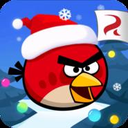 Christmas Angry birds China Logo