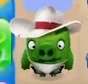 Cowboy Pigs Angry Birds Match