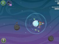 Fry Me To the Moon 3-2 (Angry Birds Space)