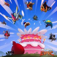 Epic's Birthday Party Poster