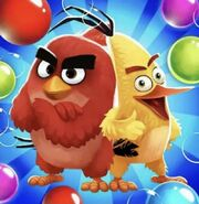 Angry Birds POP! Movie Red And Movie Chuck Icon