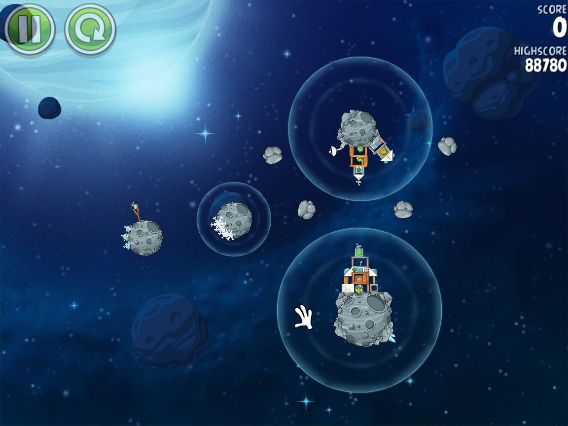 Beak Impact 8-30 (Angry Birds Space)