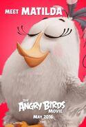 Angry Birds La Pelicula Matilda