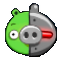 Cerdo Cyborg Angry Birds Seasons