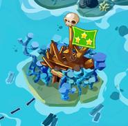 Коралловый замок разрушенный