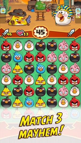 Геймплей Angry Birds Fight!