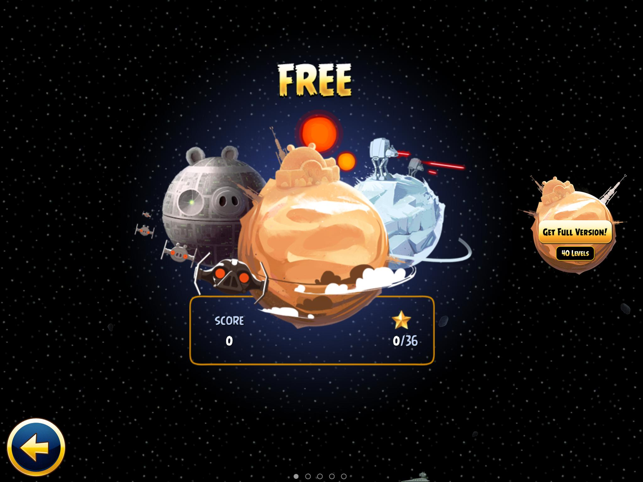 Free (Angry Birds Star Wars)