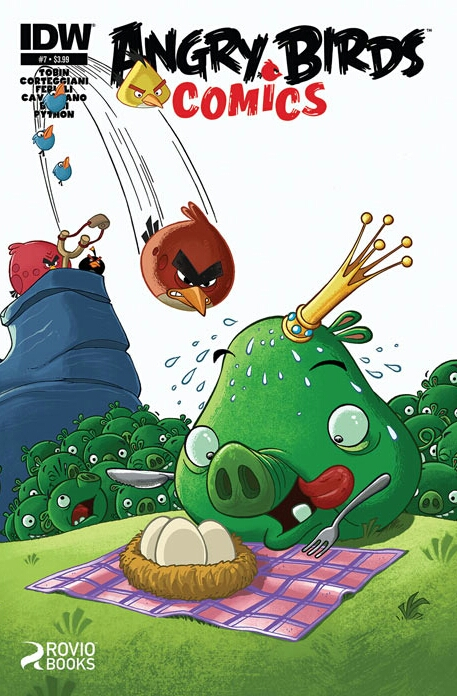 Angry Birds Comics Issue 7