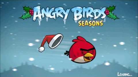 Angry Birds Seasons Season's Greedings Theme