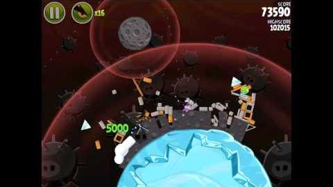 Danger Zone D-2 (Angry Birds Space)