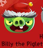 Billy the Piglet Xmas
