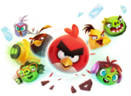 Angry Birds Reloaded Personajes