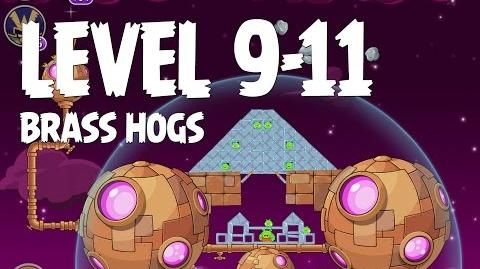 Brass Hogs 9-11 (Angry Birds Space)