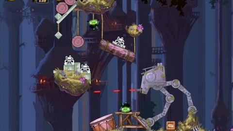 Moon of Endor 5-18 (Angry Birds Star Wars)/Video Walkthrough