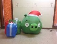 Pig and presents