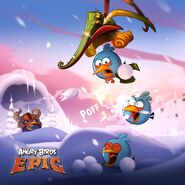 Blues Winter Epic Poster