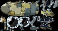 Pig Dipper Submarine