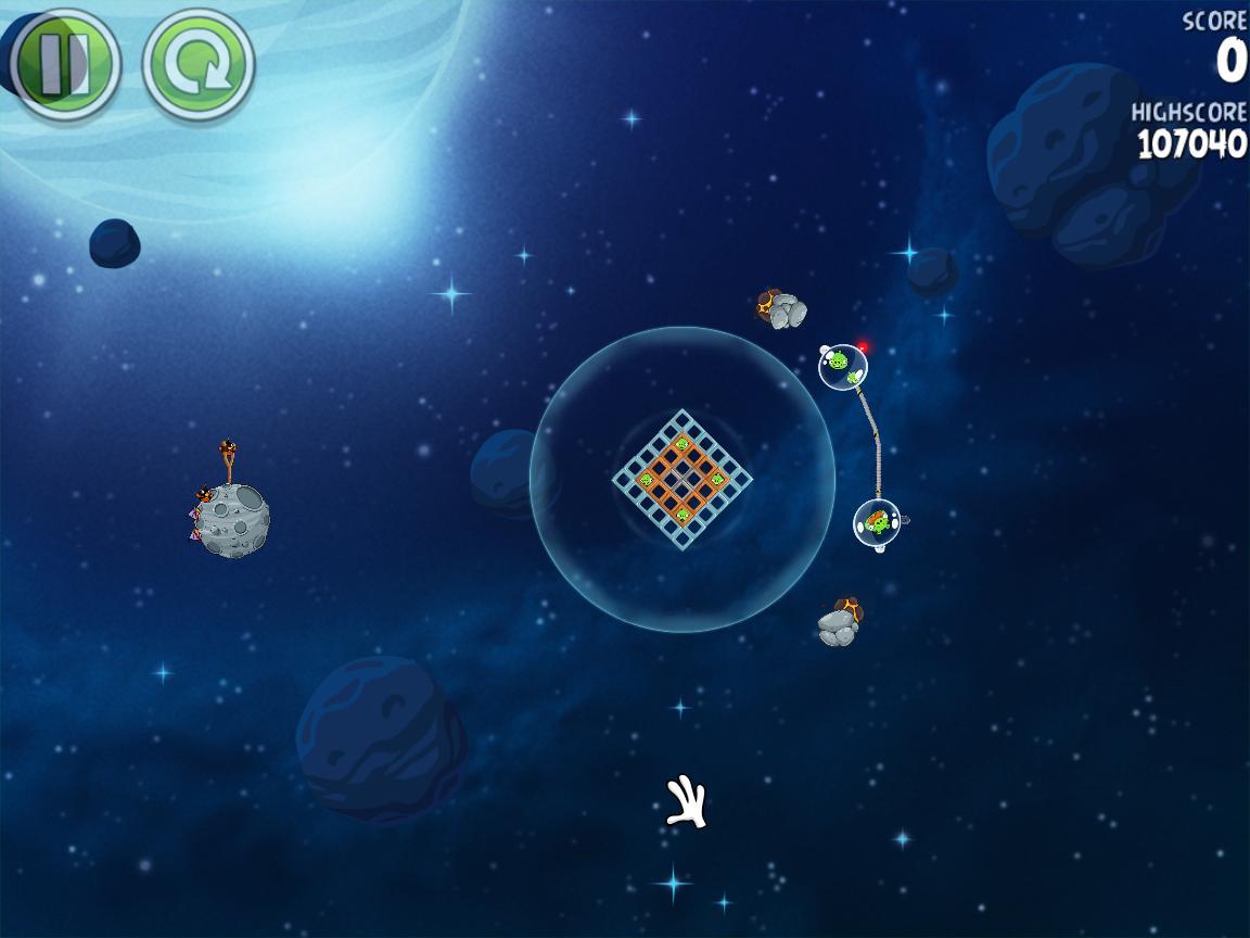 Beak Impact 8-10 (Angry Birds Space)
