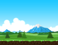 Angry birds breakfast level background