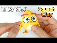 Squash Clay Makes Angry Birds Chuck!