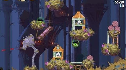 Moon of Endor 5-25 (Angry Birds Star Wars)/Video Walkthrough