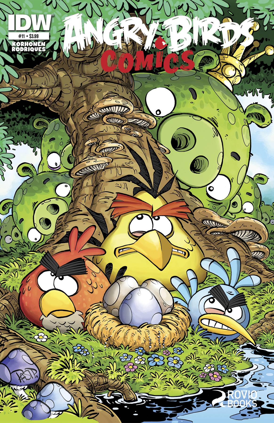 Angry Birds Comics Issue 11