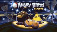 Angry Birds Seasons Loading Screen Ham Dunk