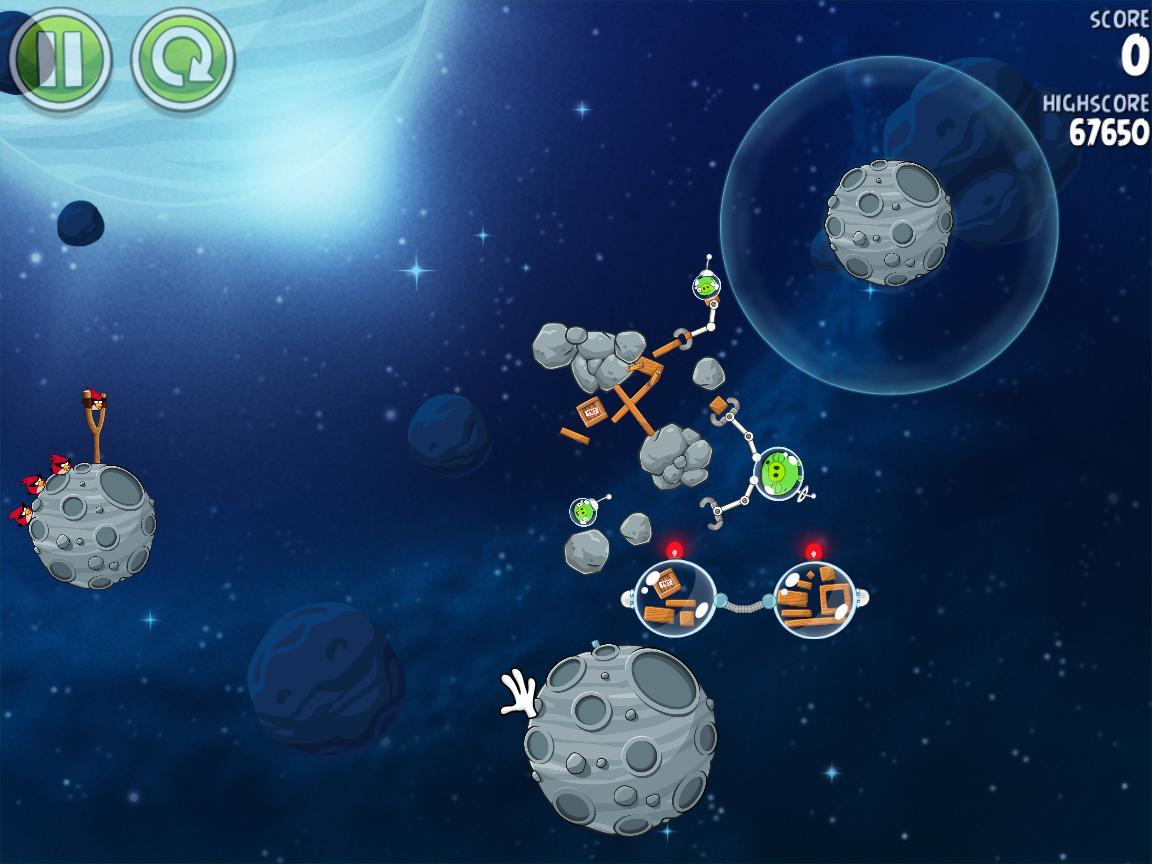 Beak Impact 8-1 (Angry Birds Space)
