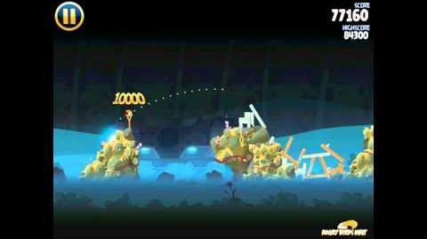 Hoth 3-30 (Angry Birds Star Wars)/Video Walkthrough