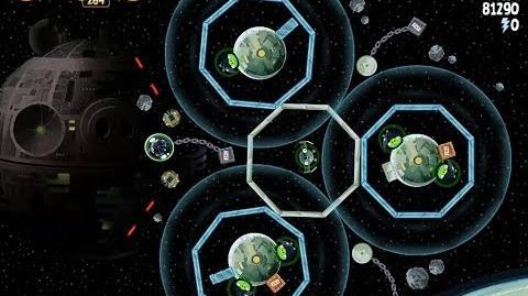 Death Star 2 6-10 (Angry Birds Star Wars)/Video Walkthrough