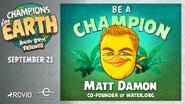 Matt Damon Promocional