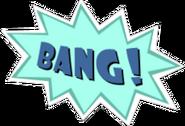 BANG! Sticker