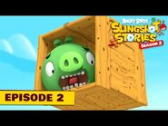 Angry Birds Slingshot Stories S2 - Pigs To The Rescue Ep2