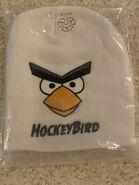 Hockey bird plush hat