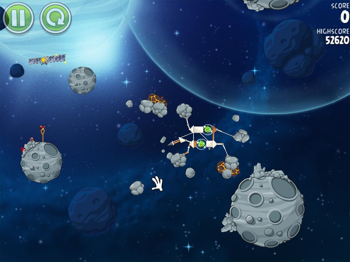Beak Impact 8-11 (Angry Birds Space)