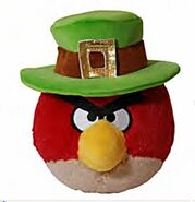 St Patrick's Red Bird