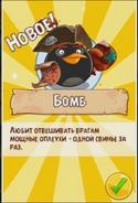 Бомб доступен
