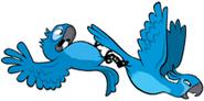 AB blu and jewel