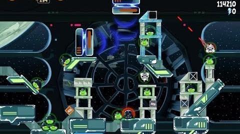 Death Star 2 6-27 (Angry Birds Star Wars)/Video Walkthrough